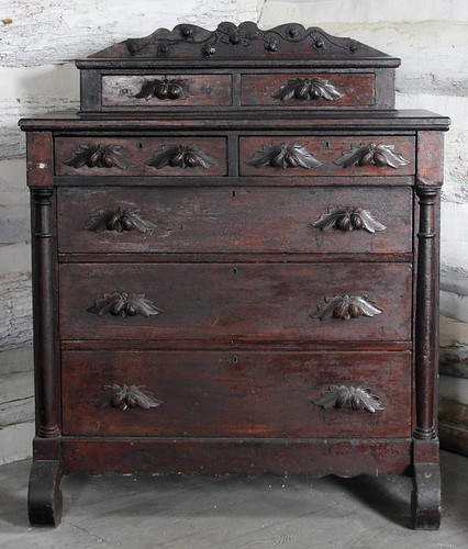 Chest of drawers attributed to Francois Bernard, Appleton, Wisconsin, 1853-1865