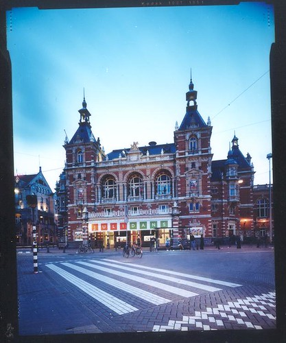 Stadsschouwburg Amsterdam during Julidans - international festivals
