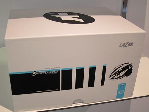 Assos/Lazer helmet packaging