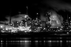 Night Shift (deanbouchard) Tags: nikon ns halifax refinery halifaxharbour d90