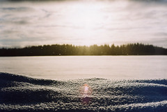 sun (Liis Klammer) Tags: winter sun snow film analog 35mm estonia flare zenit eesti zenitet