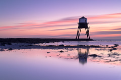 Sunrise Over Dovercourt Low Light (Andrew Stawarz) Tags: 03grad 06grad 2470mmf28gedafsnikkor adobelightroom coastal d700 dawn dovercourt eastanglia essex lighthouse lowlight nd110 nikon sea sky sunrise