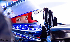 Danica Patrick (Michael Zampelli) Tags: honda driving patrick racing grandprix longbeach toyota danica firestone v8 nos motorsport kingtaco indycar franchitti danicapatrick pitrow agr speedworldchallenge americanlemans andrettigreenracing indylights teamdrifting