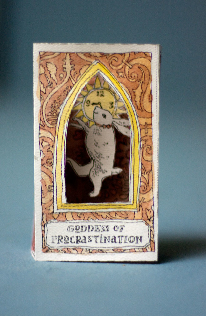 Altar to the goddess of procrastination