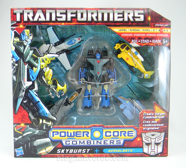 Transformer Skyburst Power Core Combiners - caja