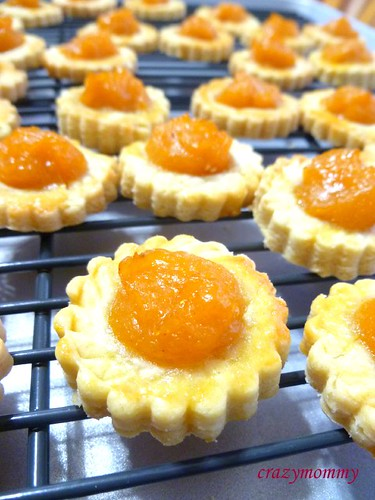 Peach tarts (modified from Pineapple tarts)