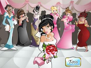free Wacky Wedding slot bonus feature 1