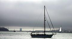 Sausalito - California (Mark Bayes Photography) Tags: california fog yacht sausalito