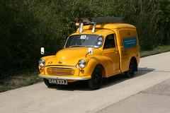 GAN833J EX-British Telecom Morris Minor Van (kitmasterbloke) Tags: england car vehicles royalmail morrisminor van gpo lcv britishtelecom amberley lightcommercial povc postofficevehicleclub