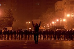 Take a minute. (break.things) Tags: protest egypt cairo revolution riots mubarak peoplesrevolution