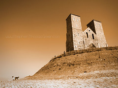 Reculver Towers (stephen thomas green1) Tags: beach kent ruins tas reculver reculvertowers