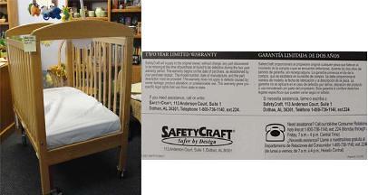 SafetyCraft crib