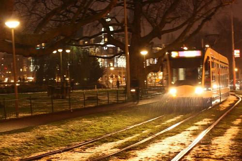 Tram em Amsterdam