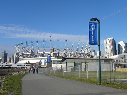 BC Place Roof Job