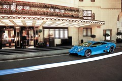 Boys are Back in Town (Luke Alexander Gilbertson) Tags: london beautiful nikon turquoise super londres british friday lamborghini londra rare f28 dorchester han sv qatar lambo the veloce 2470mm 2011 d700 lukegilbertson lp6704lp6704