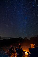 Campsite (Sienar) Tags: trip family camping vacation sky night stars outdoors photography nationalpark nikon quiet florida wideangle tokina campfire everglades newyears wilderness campsite goodtimes d300 greatoutdoors 2011 28 tenthousandislands 1116mm 28 chrisacua chrisacua