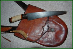 Knives by Dwight Gallian (impala2k8) Tags: handle knife blade knives forge forged elkhandle hornhandle dwightgallian