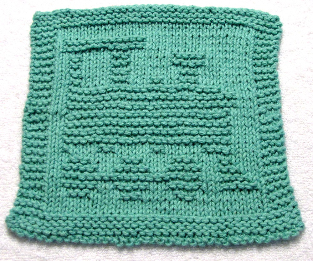 Farmhouse Kitchen Knitted Dishcloth: The World's Best Photos Of Facecloth And Silhouette