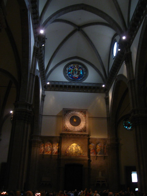 フィレンツェの教会のフリー写真素材