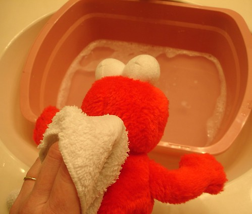 Wash the Stuffed Animal