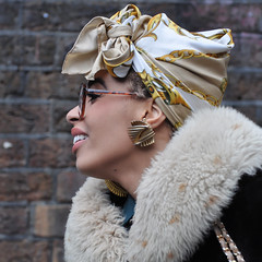 Caribbean style (-hndrk-) Tags: uk england london fashion nikon headscarf d90 caribbeanstyle hndrk bricklanepeople