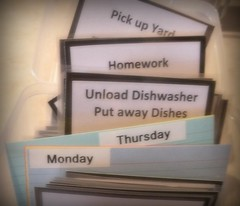 Home Management Cards