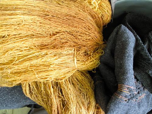 A lã e o linho