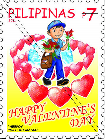 VALENTINE'S DAY 2011 SPECIAL STAMPS « Philippine Postal Corporation, Philippine Stamps, Filipino, Stamp Collection, Postal Services, Cory Aquino, Manny Pacquiao_1297281847765