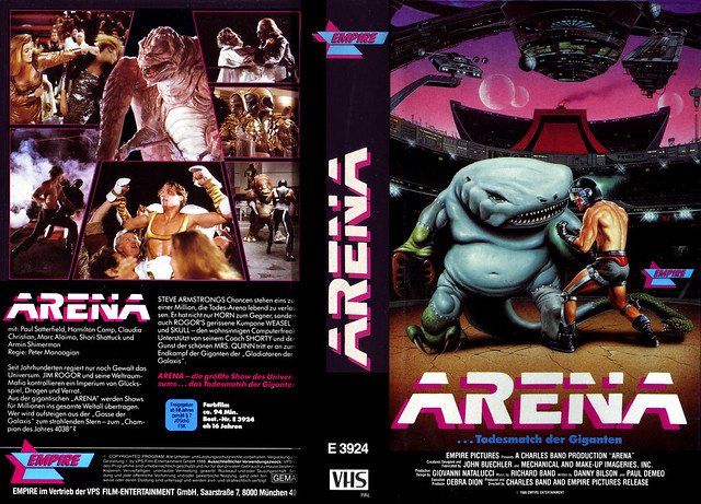 Arena (VHS Box Art)