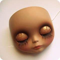 (Angel~Lily) Tags: new holiday alpaca sunshine doll wip blythe coming custom takara base soon reroot angel~lily