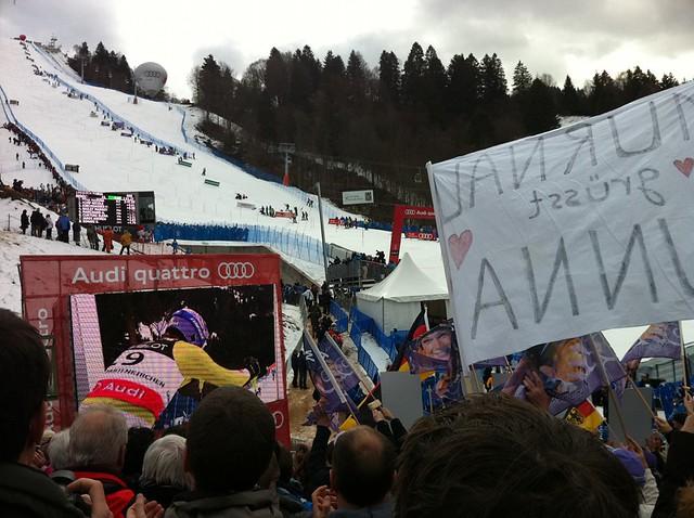 Maria Riesch - Slalom Super-Kombi der Frauen am Gudiberg