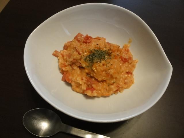 2011年2月5日 昼食(トマトクリームリゾット)