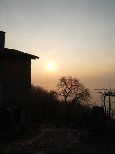 tramonto la Cà 12 feb 2011