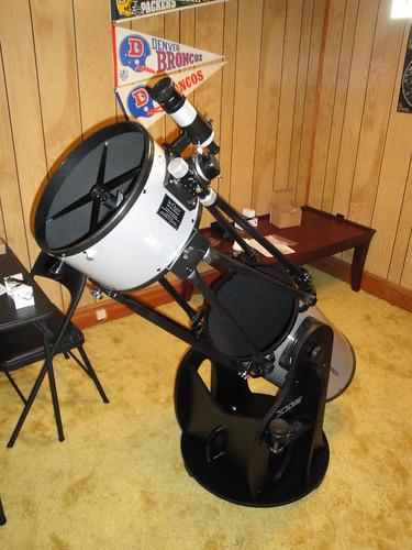 Finished telescope