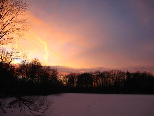 Sunset 20110213