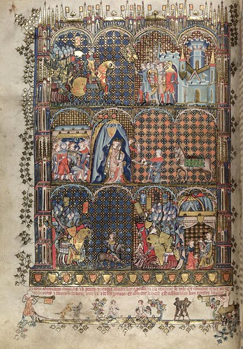 004-folio 43 verso-The Romance of Alexander - MS. Bodl. 264 © Bodleian Library-University of Oxford 1999