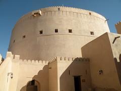 Nizwa Fort ( ) (twiga_swala) Tags: castle monument architecture town al fort ad tourist arabic arabian oman defensive fortress attractions nizwa  omani sultanate     dakhiliya   dakhiliyah aldakhiliya