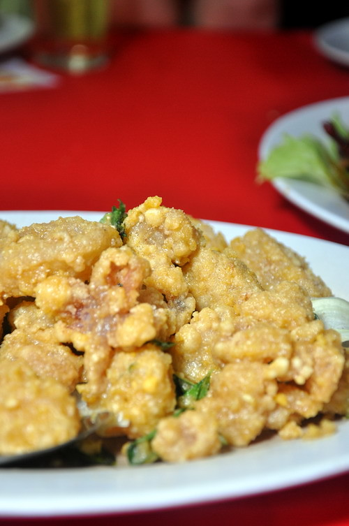 Salted Egg Yolk Squid
