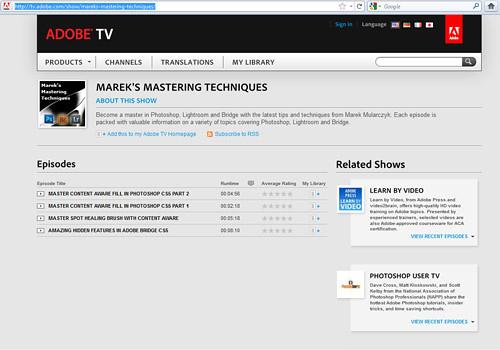Marek's Mastering Techniques