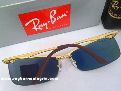 RB 3359 Gold Polarized 3