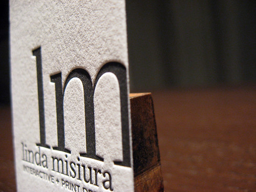 Custom Business Card - Linda Misiura