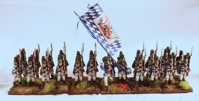 1st Battalion, 2nd Line, finished