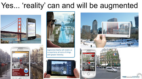 yes reality can and well be augmented