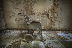 Wheel chair B (andre govia.) Tags: old house building abandoned strange wheel buildings hospital insane chair woods closed decay ghost down best andre haunted creepy explore horror ghosts mad sanatorium asylum decaying ue urbex sanitarium asylums criminally sanatoriums govia exploreing