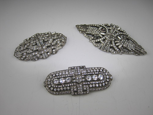Art Deco Bridal Hair Combs and Brooches at Bridal Styles