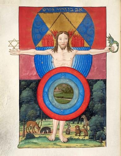 005-Ms. Fr. 167-©Genève, Bibliothèque de Genève- Introduction à la Cabale, dédiée au roi François Ier-f 27v