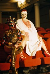 Party Monster (Benedict.) Tags: party cinema film monster festival 35mm lights theater flood pentax glasgow spotmatic sequins couture obscure gff gft 2011 colorphotoaward