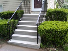 Stucco Steps