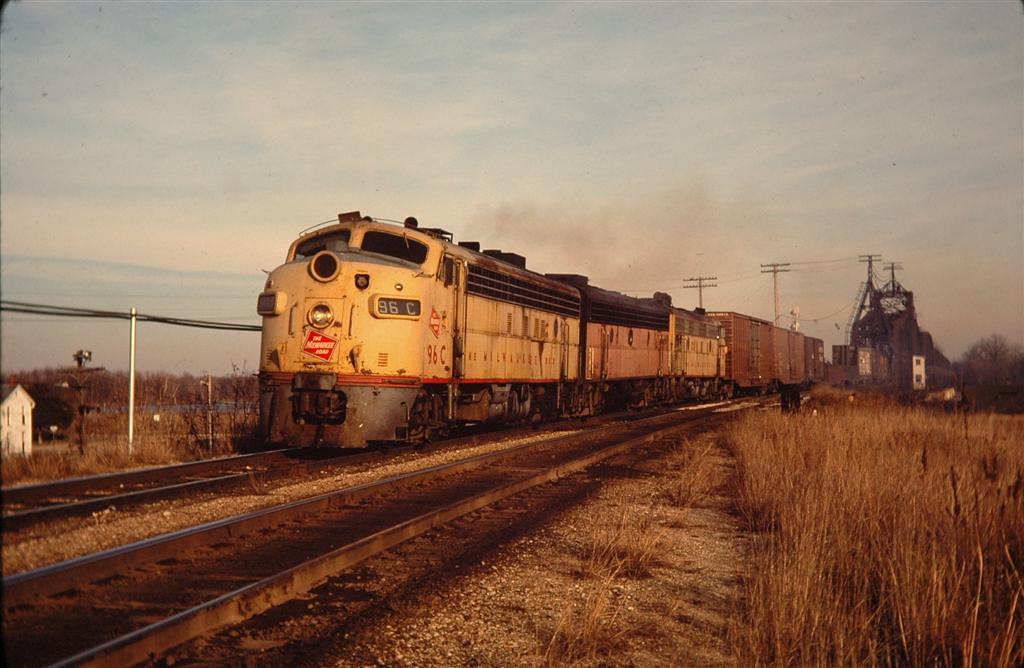 Covered wagons Sabula Iowa Nov 1978