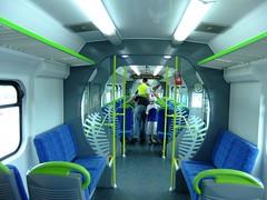 Refurbished Ganz Mavag Interior (Raurimu_Spiral) Tags: new station train metro rail railway zealand nz wellington network upgrade paraparaumu matangi waikanae ganz tranz mavag kiwirail